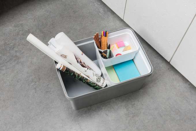 Organising your arts and crafts materials